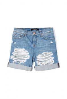 Euphoria громоздкая Нэш Boyfriend шорты джинсовые на Марка J