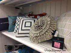look at the fun textures on these pillows great selection at tjmaxx u0026 homegoods