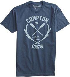 c752b0b8899eef Compton Crew Cool Shirts For Men
