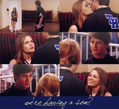 Bethany Joy Lenz (Haley James-Scott) & James Lafferty (Nathan Scott) - One Tree Hill
