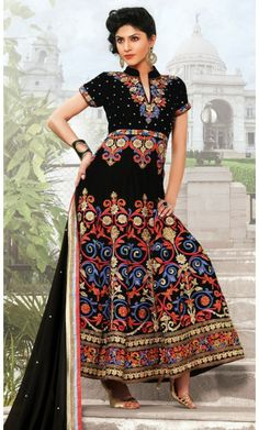 Adorable Black Salwar Kameez