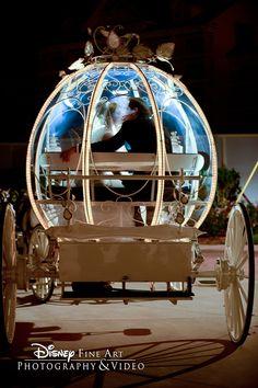 The Disney Wedding Cinderella Carriage-How Beautiful! Wedding Wishes, Wedding Pictures, Wedding Blog, Dream Wedding, Wedding Ideas, Perfect Wedding, Wedding Stuff, Cinderella Coach, Cinderella Carriage