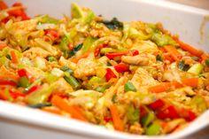 Klik her og se den lækre opskrift nu. Easy Healthy Recipes, Asian Recipes, Ethnic Recipes, Food N, Food And Drink, Danish Food, Warm Food, Dinner Is Served, I Foods