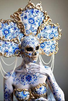 Fantasy Makeup, Fantasy Art, Pinup, Character Design Inspiration, Makeup Art, Skull Makeup, Costume Design, Art Inspo, Art Reference