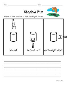 Light And Shadow A Physical Science Unit For K 2 Grade