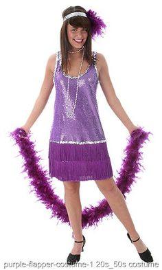 661501b20bfab Purple Plus Size Flapper Dress Purple Plus Size Sequin and Fringe Lined  Flapper DressMatching Sequin Headband