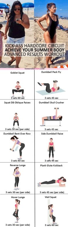 #womensworkout #workout #femalefitness Repin and share if this workout unlocked your summer body! Click the pin for the full workout.