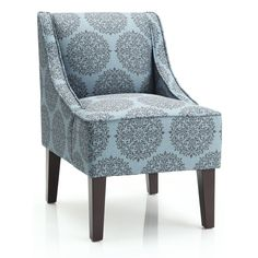 Marlow Gabrieel Accent Chair (Teal), Green (Fabric)