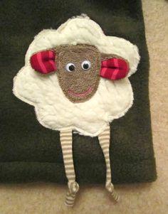 Nadelzauber: Ein Schaf im Dunkeln oder Schäfchen-Pulli 2.0