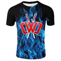 Kids Chad Wild Clay CMC Gamer Flame 3D Print Shirt Video Game RONGANDHE Branded T Shirts, Printed Shirts, Flavored Marshmallows, Cut Tees, Fruit Snacks, Fashion Brands, Video Game, 3d Printing, Topshop