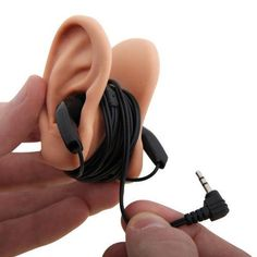 Earbud holder...hahahaha