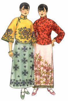 Chinese Traditional Costume Dresses New Year Cheongsam Asian Girl Kimono Nest Clothing Years