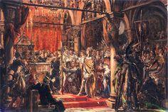 Koronacja Bolesława Chrobrego na Króla Polski R.P.1025.