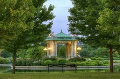 gazebo desktop nexus wallpaper by Hanson Robin All Over The World, St Louis, Places Ive Been, The Good Place, Gazebo, Outdoor Structures, Park, Wallpaper, Nature