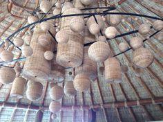 Light fixture - Mukul Wellness Resort, Nicaragua