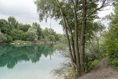 Secret Lake near Allach neighborhood, Munich