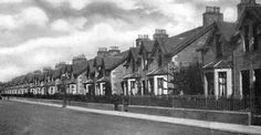 Tour Scotland Photographs: Old Photograph Wilson Street Craigie Perth Scotland