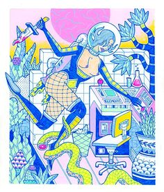 Kristen Liu-Wong Art | Paintings