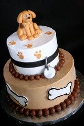 Allison Repetti Allisonrepetti Puppy Birthday CakesPuppy Parties Themed