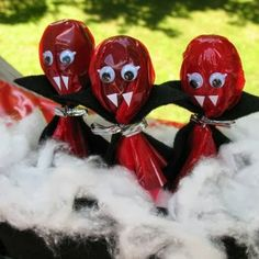 Fazendo a Minha Festa Infantil: Vampiro de Pirulito!