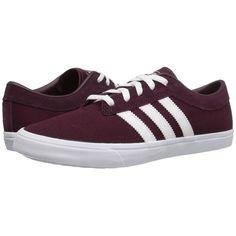 purchase cheap 619c9 7d9ce adidas Skateboarding Sellwood (MaroonWhiteMaroon) Womens Skate... (