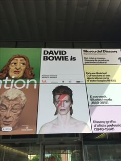 David Bowie Is - Barcelona - June 3 2017 Shows 2017, June 3rd, David Bowie, Barcelona, Movie Posters, Movies, Author, Ale, Exhibitions