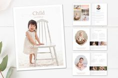 Best Children's Photography Magazine   CreativeWork247 - Fonts, Graphic...