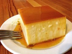 Creamy Coconut Flan - served every 1st and 3rd Saturday of the month with our Puerto Rican Cuisine :: Rolling Scones Bakery & Cafe located in Goshen, IN
