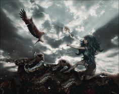 Centuria by Sabina-Elisabeth on DeviantArt Digital Art, Fantasy, Pics, Painting, Deviantart, Art, Character