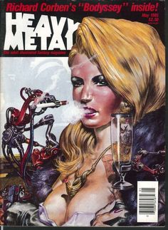 heavy metal richard corben bodyssey pepe moreno rod kierkegaard  5 1985 from $13.2