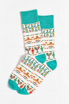 Desert Pattern Sock