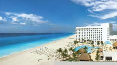 Cancun-Beach-Strip-of-Hotels