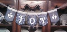 Christmas banner from Peace & Scrappiness.