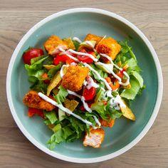 Caprese Salad, Cobb Salad, Mango Salat, Nachos, Chutney, Nom Nom, Healthy Living, Healthy Life, Tortilla Chips