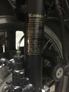Kawasaki GPz 550 A3 1986