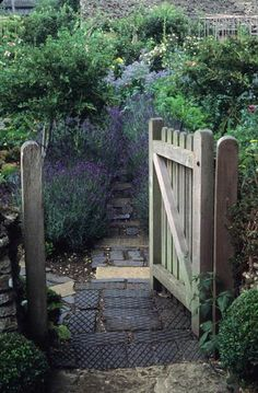 back doors, cottag garden, blue doors, cottage gardens, garden cottage, garden gate, garden design ideas, design garden, kitchen garden