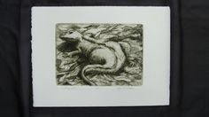 Small  Etching with Aquatint by JanellBennettFineArt on Etsy