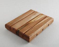 Wooden Soap Dish - Maple Wood - Natural Soap Dish