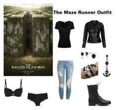 """The Maze Runner Outfit"" by silentshadows ❤ liked on Polyvore featuring Frame Denim, Calvin Klein, James Perse, VIPARO and Bling Jewelry"