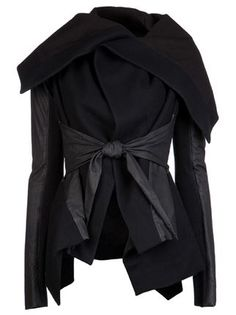 Rick Owens Tie Jacket - - Farfetch.com
