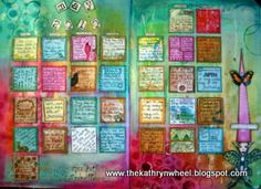 Calendar Challenge 2010 / 11... WOW!  A whole calendar of inchies!  You've gotta see this one! ... http://thekathrynwheel.blogspot.com/2010/12/calendar-challenge-2010-11.html#
