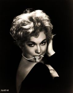 "Kim Novak, 1958....  I almost caressed the movie theater screen when I saw her in ""Vertigo""...  Yikes!"