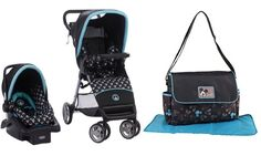 Baby Infant Stroller Travel System Baby Bundle with Diaper Bag