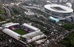 Pride of North London; The home of AFC Old & New - Highbury and Ashburton Grove (The Emirates Stadium)