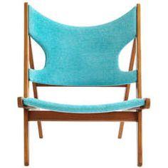 Rare Lounge Chair by IB Kofod-Larsen