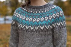 Pullover Design, Sweater Design, Fair Isle Knitting Patterns, Knit Patterns, Norwegian Knitting, Icelandic Sweaters, Big Knits, Crochet Clothes, Pullover Sweaters