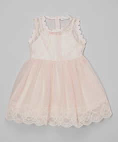 Another great find on #zulily! Pink Sophia Dress - Girls by Trish Scully Child #zulilyfinds