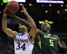 College basketball: Kansas gets past Baylor...: College basketball: Kansas… #WestVirginiaBasketball #Kansasbasketball #KansasBasketball