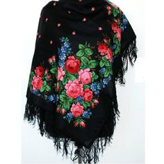 Your place to buy and sell all things handmade Pride And Glory, Neckerchiefs, Floral Scarf, Wool Yarn, New Product, Scarf Wrap, Christmas Sweaters, Shawl, Girl Fashion