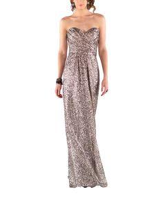 DescriptionSorella Vita Modern Metallic Style8834Full-length bridesmaid…